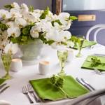 Vestuvinio stalo dekoravimas