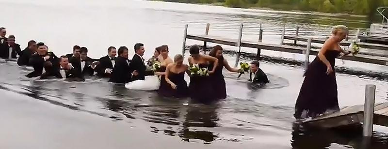Juokingi vestuvių vaizdeliai
