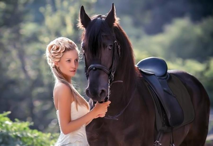 Fotosesija su zirgu