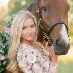Fotosesija su arkliu